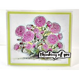 Cottage Cutz NEW stamping stencil stamp +: Flower