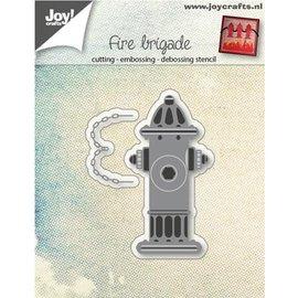 Joy!Crafts / Jeanine´s Art, Hobby Solutions Dies /  Stanzschablone, Thema: Feuerwehr Wasserspender