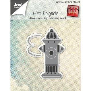 Joy!Crafts / Hobby Solutions Dies Poinçonnage sujet de modèle: distributeur d'eau d'incendie