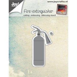 Joy!Crafts / Hobby Solutions Dies Poinçonnage sujet du modèle: extincteur à eau d'incendie