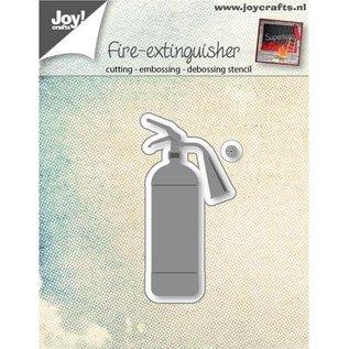 Joy!Crafts / Jeanine´s Art, Hobby Solutions Dies /  Stansning skabelon emne: Fire vand ildslukker