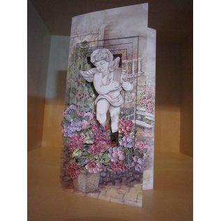 BASTELZUBEHÖR, WERKZEUG UND AUFBEWAHRUNG Olba Blumen Stanzer + Gratis 1 Kartenset
