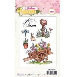 Studio Light Stamp Trasparente: tema, giardino