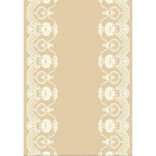 REDDY Designerpapierset, Rustik Lace
