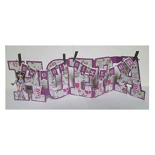 Dutch DooBaDoo Stencil Art Alphabet AZ