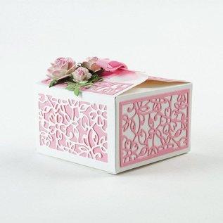 Tonic Stansning og prægning skabelon: En filigran 3D box