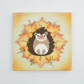 Tonic template perfuração: Hedgehog em 3D