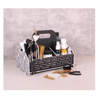 Holz, MDF, Pappe, Objekten zum Dekorieren Opbevaringskasse, værktøjskasse