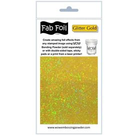 BASTELZUBEHÖR, WERKZEUG UND AUFBEWAHRUNG Glitter Gold metallic Folie