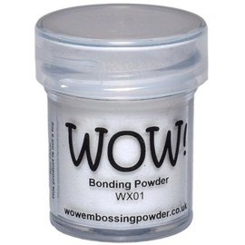 FARBE / STEMPELINK Wow! Bonding Powder für metallic Folien!
