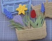 Projeto Marianne Flores | Flores Creatables Primavera de minúsculos