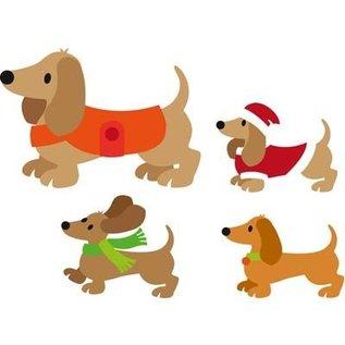 Marianne Design Stanz- und Prägeschablone, Hund