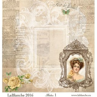 """LaBlanche LaBlanche Papers """"Ladies"""" Nr.1"""