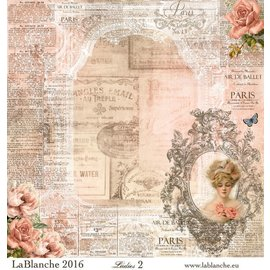 """LaBlanche LaBlanche Papers """"Ladies"""" Nr.2"""
