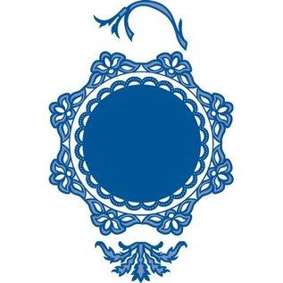 Marianne Design Stansning skabelon: 2 dekorativ ramme og to ark