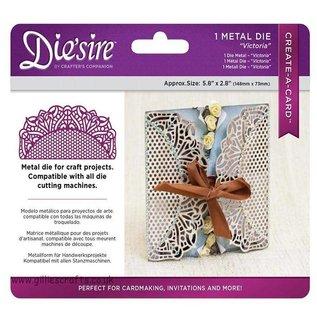 Die'sire NY skæring dør: Filigree Card Design Victoria