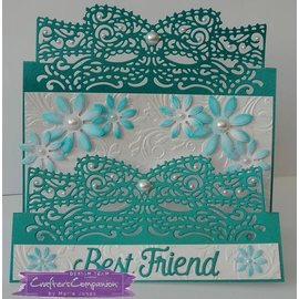 Die'sire NEW cutting dies: Intricate Design Card Cupid's Bow
