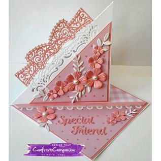 Die'sire NEU Stanzschablonen: Filigrane Card Design Cupid's Bow
