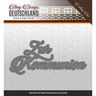 AMY DESIGN Stanzschablone: Zur Kommunion