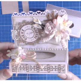 Dutch DooBaDoo Kunstschablone für Schachtelchen