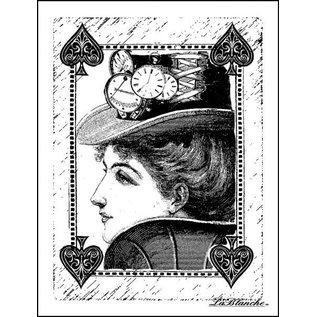 LaBlanche LaBlanche Stempel: Reine de pique