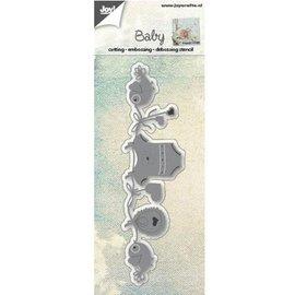 Joy!Crafts / Jeanine´s Art, Hobby Solutions Dies /  Troqueles de corte: corte, grabación en relieve y bajo relieve, bebé del tema