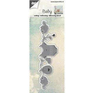 Joy!Crafts / Jeanine´s Art, Hobby Solutions Dies /  meurt coupe: coupe, embosser et Débossage, bébé thème