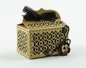 Ponsen sjabloon voor het ontwerp van dozen en 3D-ontwerpen