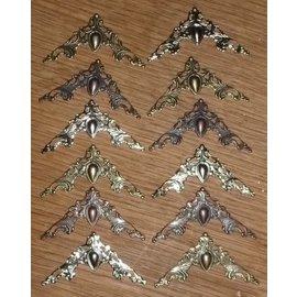 LaBlanche 12 ornements de découpures métalliques