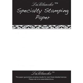 BASTELZUBEHÖR, WERKZEUG UND AUFBEWAHRUNG Special stamped paper from LaBlanche