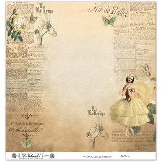 """LaBlanche LaBlanche Papers """"Ballet"""" Nr.2"""
