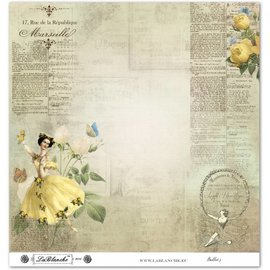 "LaBlanche Lablanche Papers ""Ballet"" No.3"
