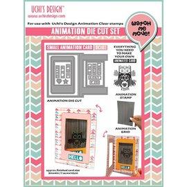 Uchi's Design NOUVEAU: Set pour la conception de mini cartes d'animation !! Dernier modèle