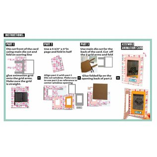 Uchi's Design NEU: Set zur Gestaltung von Animation Mini Karten!!