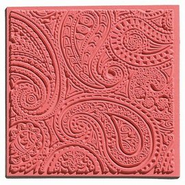 GIESSFORM / MOLDS ACCESOIRES 1 tessitura mat, Paisley, 90 x 90 mm