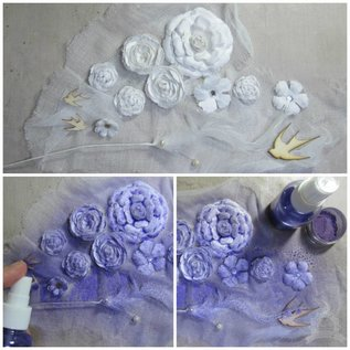 FARBE / STEMPELINK 20% Sonderrabatt! 12 Farben: Mix & Match Pigment Powder