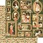 GRAPHIC 45 Portræt af en kvinde, designer papir 30,5 x 30,5 cm