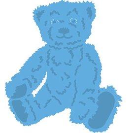 Marianne Design Ponsen sjabloon: Tiny's teddybeer