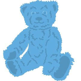 Marianne Design Stamping template: Tiny's teddy bear