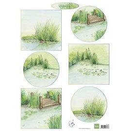 Bilder, 3D Bilder und ausgestanzte Teile usw... A4, picture sheet