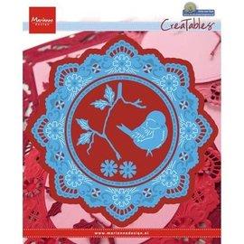 Marianne Design Stanzschablone: Petra's Kreis und Vogel