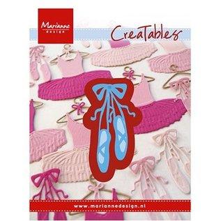 Marianne Design Stanzschablone: Ballett-Schuhe