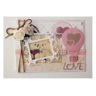 Joy!Crafts / Hobby Solutions Dies Stamping template: Love balloon