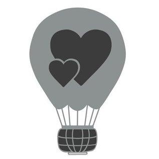 Joy!Crafts / Jeanine´s Art, Hobby Solutions Dies /  Stanzschablone: Liebes Luftballon