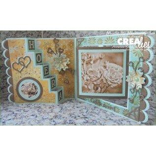 Crealies und CraftEmotions Stanzschablone, Bordüre