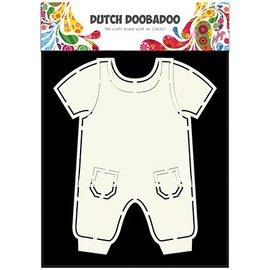 Dutch DooBaDoo A5 Schablone Card Art, Kleider Pub
