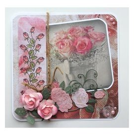 Joy!Crafts / Hobby Solutions Dies Punching templates: 3D Rose