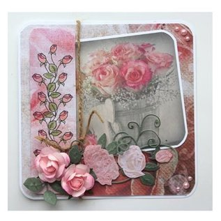 Joy!Crafts / Jeanine´s Art, Hobby Solutions Dies /  Stanzschablonen: 3D Rose