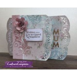 Die'sire Stamping template: Shabby chic, borders