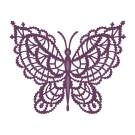 CREATIVE EXPRESSIONS und COUTURE CREATIONS Stamping template: Lace butterfly